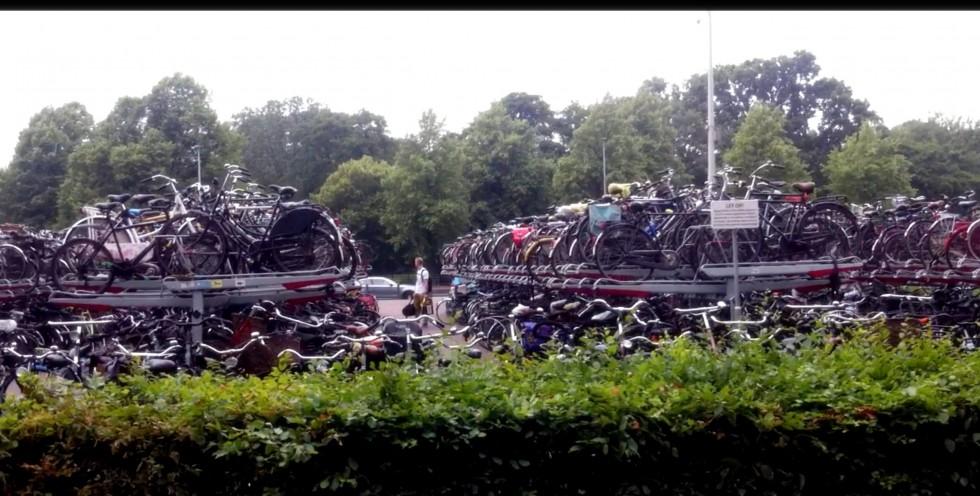 dviraciu parkingas