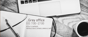 Grey office reklama.