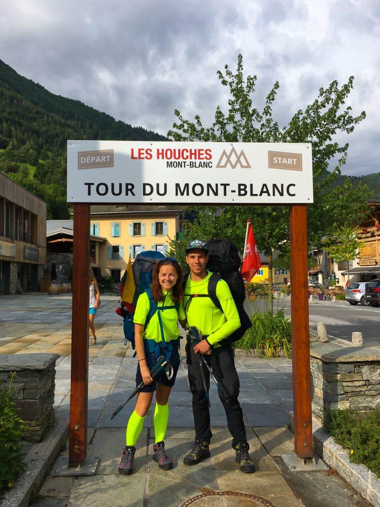 Tour du Mont Blanc Startas